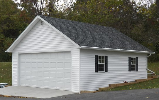 garaż drewniany ekologiczny
